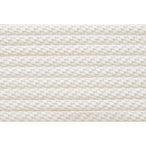 Shoreline Marine 3/16-inch White Solid Braid Nylon Anchor Line (75 Inches)