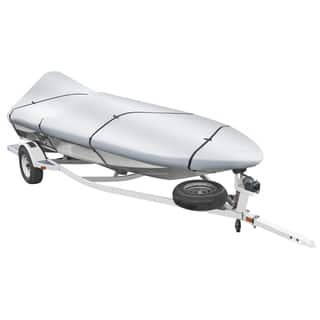 Shoreline Marine Warm Weather Boat Cover Silver|https://ak1.ostkcdn.com/images/products/9793195/P16961729.jpg?impolicy=medium