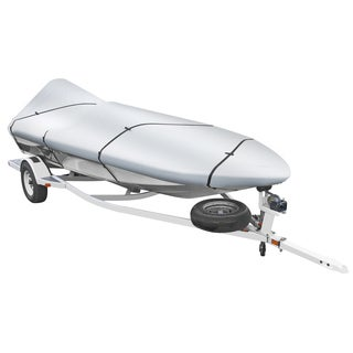 Shoreline Marine Warm Weather Boat Cover Silver (2 options available)