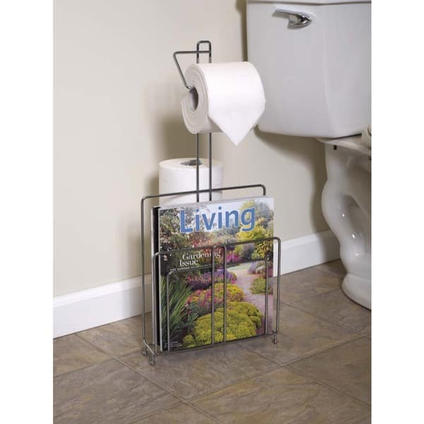 Toilet Paper Stand And Magazine Rack