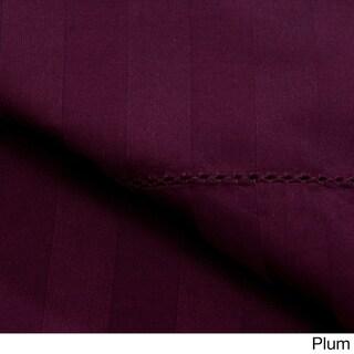 Andiamo Egyptian Cotton 500 TC Woven Stripe Sheet Set