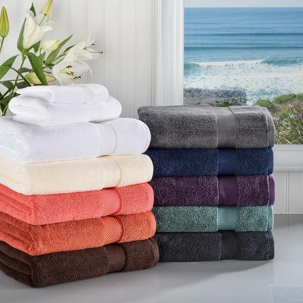 Miranda Haus Super Soft & Absorbent Zero Twist Cotton 3-piece Towel Set