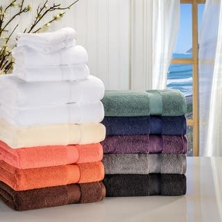 Superior Soft and Absorbent Zero Twist Cotton 6-piece Towel Set|https://ak1.ostkcdn.com/images/products/9793446/P16961961.jpg?impolicy=medium
