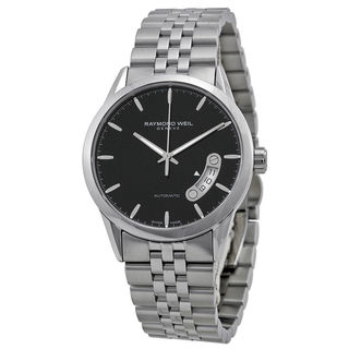 Raymond Weil Men's 2770-ST-20011 'Freelancer' Automatic Black Dial Stainless Steel Watch