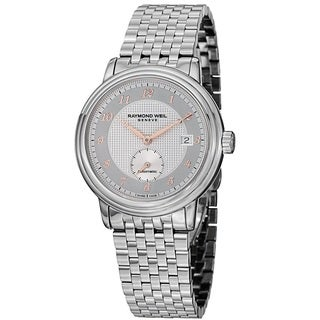 Raymond Weil Men's 2838-S5-05658 'Maestro' Automatic Silver Dial Stainless Steel Watch