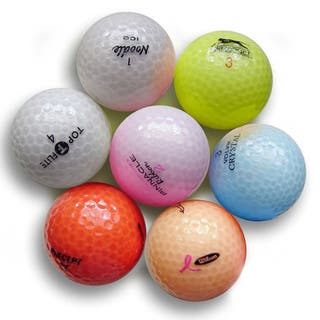 Pack of 36 Crystal Colors Golf Balls (Recycled)|https://ak1.ostkcdn.com/images/products/9793462/P16961993.jpg?impolicy=medium