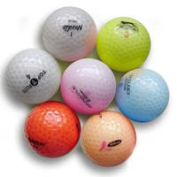 Pack of 36 Crystal Colors Golf Balls (Recycled)