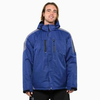 Pulse Men's Dark Blue Carbon Crest Insulated Jacket|https://ak1.ostkcdn.com/images/products/9793582/P16962092.jpg?impolicy=medium