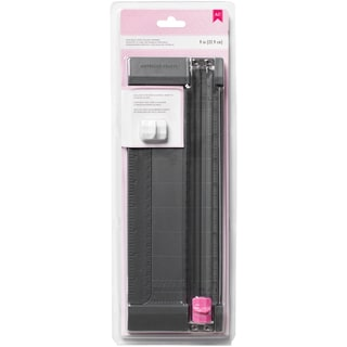 "Pink Craft Blade Trimmer 9""-"