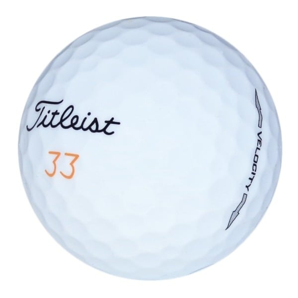 Pack of 36 Titleist Velocity Recycled Golf Balls (Recycled)