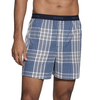 Hanes Classics Men's Tagless Comfort Flex Waistband Boxer (5-pack)