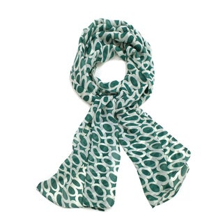 Le Nom Women's Circle Print Scarf (5 options available)
