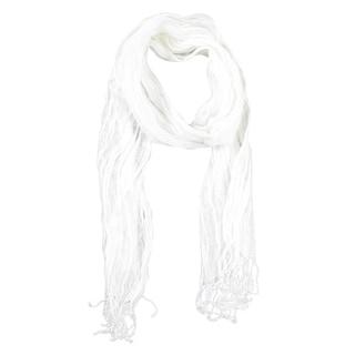 Le Nom Women's Wrinkled Fresh Linen Scarf