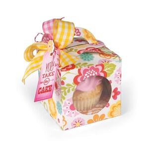 "Sizzix Bigz XL Die 6""X13.75""-Cupcake Box"