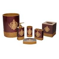 Austin Horn Classics Montecito Red Luxury 6-piece Bath Accessory Set