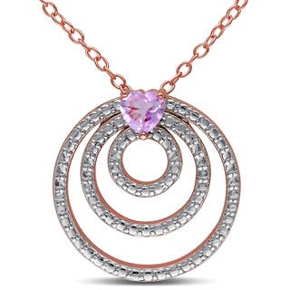 Miadora Rose Goldplated Silver Heart-cut Rose de France Circle Necklace https://ak1.ostkcdn.com/images/products/9796040/P16964227.jpg?impolicy=medium