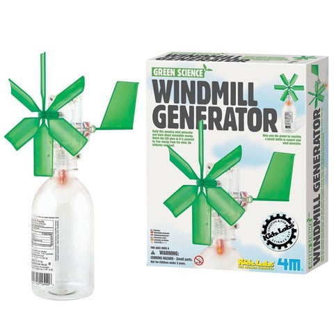 Toysmith Green Science Windmill Generator