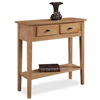 KD Furnishings Solid Oak Hall Console/ Sofa Table