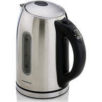 Ovente Brushed Stainless Steel 1.5-liter Digital Temperature Control Kettle