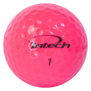 Intech Beta Ti AccuDistance Women's White/ Pink Golf Balls (Pack of 16)