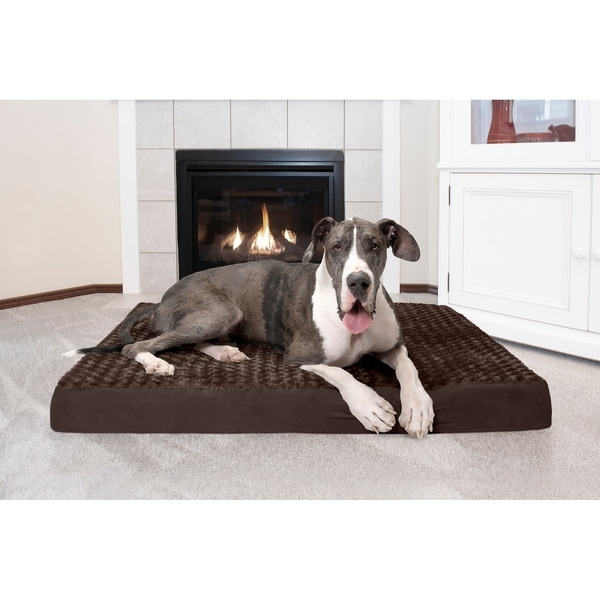 FurHaven Ultra Plush Deluxe Orthopedic Mattress Dog Bed. Opens flyout.
