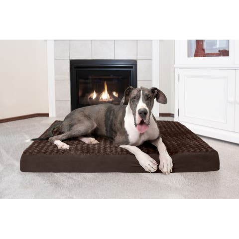 e1eff6bfd3e0 Buy Dog Beds Online at Overstock | Our Best Dog Beds & Blankets Deals