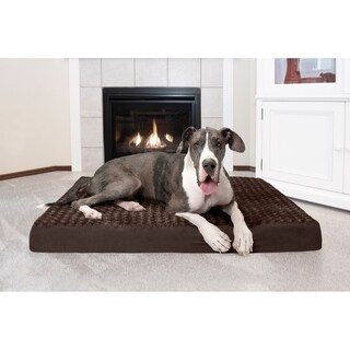 FurHaven Ultra Plush Deluxe Orthopedic Pet/ Dog Bed