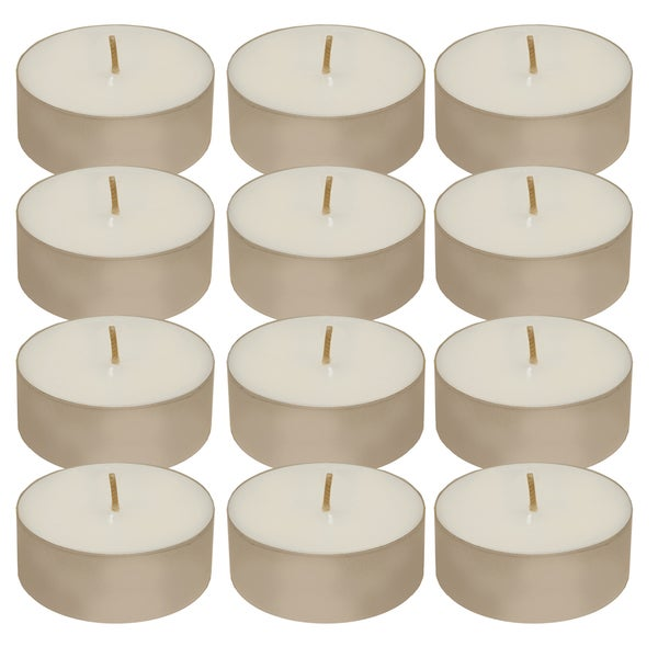 Extra Large Tea Light Candles (Pack of 12)