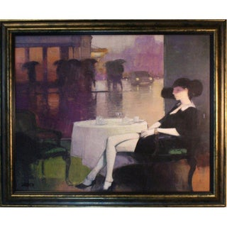 Landier 'Evening Repose' Framed Art Print