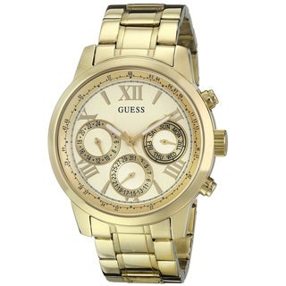 Guess 'Classic Sport' Women's U0330L1 Gold Tone Stainless Steel Watch