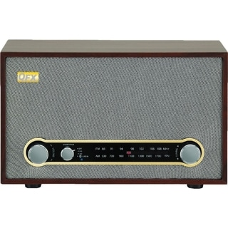 QFX Retro Bluetooth/AM/FM Radio