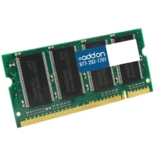 AddOn JEDEC Standard 1GB DDR2-533MHz Unbuffered Dual Rank 1.8V 200-pi