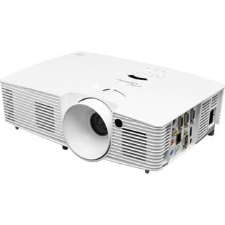 Optoma W351 WXGA 3800 Lumen Full 3D DLP Projector with HDMI and 20,00