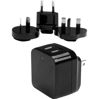 StarTech.com Dual Port USB Wall Charger - High Power (17 Watt / 3.4 A
