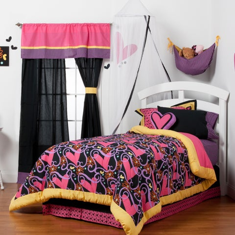 Sassy Shaylee 8-piece Bed in a Bag with Sheet Set