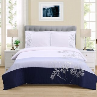 Superior Sydney 3-piece Cotton Duvet Cover Set