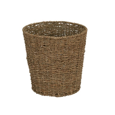 Household Essentials Seagrass Waste Bin