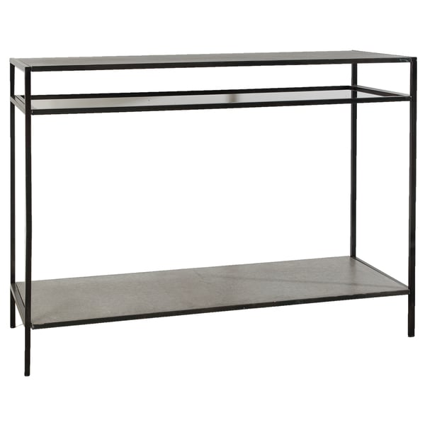 Devin 47 inch metal and glass console table free for 70 inch console table