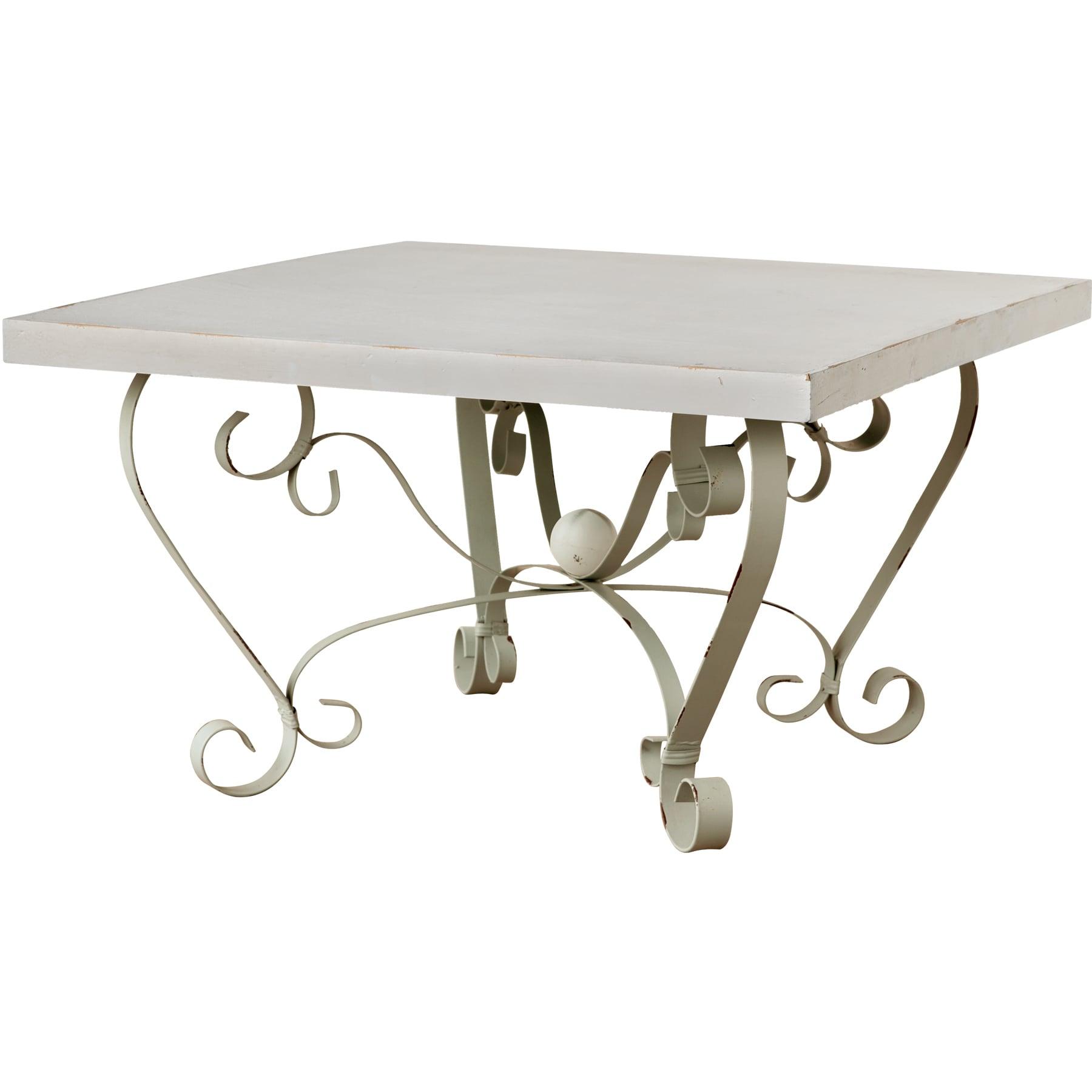 "St. John Metal/ Stone Table (35.5x35.5x22"" Coffee Table),..."