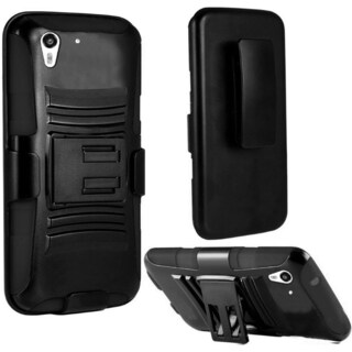 INSTEN Dual Layer Hybrid PC/ Soft Silicone Holster Phone Case Cover For HTC Desire Eye