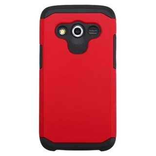 INSTEN Dual Layer Hybrid Rubberized Hard PC/ Soft Silicone Phone Case Cover For Samsung Galaxy Avant