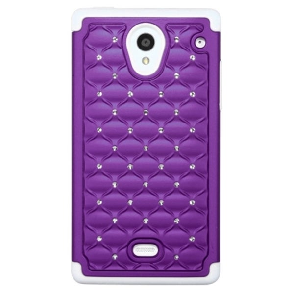 Dual Layer Crystal Silicone Cover Case
