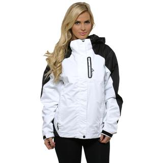 Pulse Women's Black and White 3 in 1 Systems Jacket