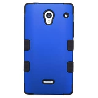 INSTEN Tuff Dual Layer Hybrid Rubberized Hard PC/ Soft Silicone Phone Case Cover For Sharp Aquos Crystal