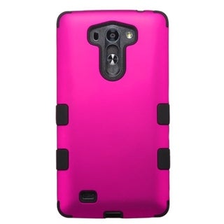 INSTEN Tuff Dual Layer Hybrid Rubberized Hard PC/ Soft Silicone Phone Case Cover For LG G VISTA