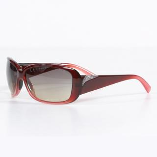 Smith Women's Black Cherry Fade Shorewood Sunglasses with Brown Gradient Lenses