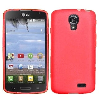 INSTEN Plain TPU Rubber Candy Skin Phone Case Cover For LG F70 D315