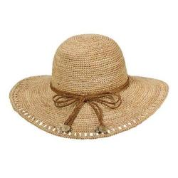 Women's Callanan CR212 Open Brim Sun Hat Natural