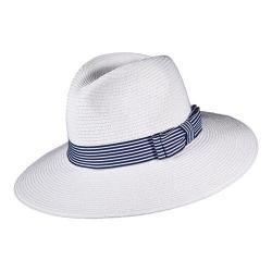 Women's Callanan CR253 Braided Safari Hat White