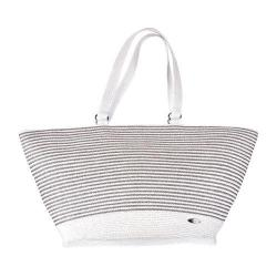 Women's Cappelli Straworld BAG1011 Tote Silver